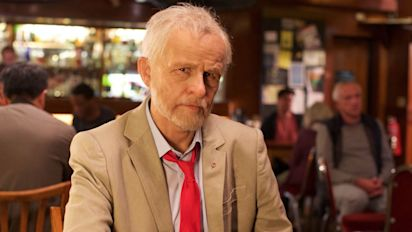 Can you tell which comic is playing Jeremy Corbyn here?