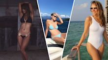 From Liz Hurley to Halle Berry, celebrities over the age of 50 to inspire your swimwear game