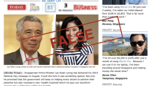 MAS warns public of fake bitcoin investment website featuring PM Lee Hsien Loong