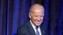 Biden Opens Speech With Joke About Unwanted Touching