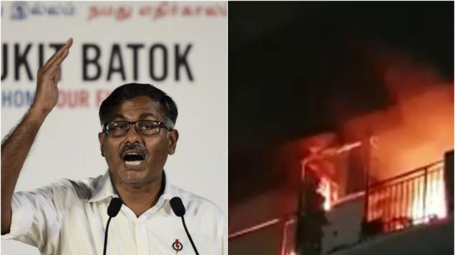 Bukit Batok fire: Murali Pillai apologises over hose reels