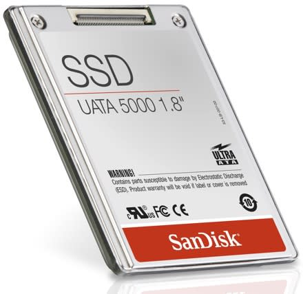 SanDisk announces 32GB SSD: prices begin to fall