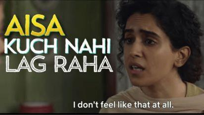 Teaser: Sanya Malhotra Plays an Apathetic Widow in 'Pagglait'