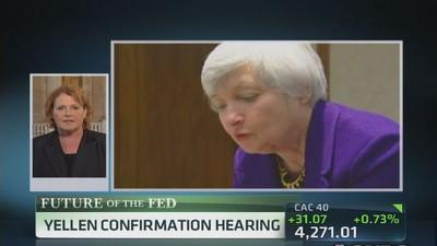Yellen will give predictability: Sen. Heitkamp