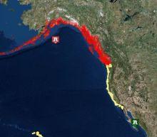 Alaska earthquake today: Tsunami heads for Alaska amid mass evacuations as rest of west coast given all clear