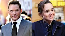 Ellen Page calls out Chris Pratt for supporting an 'infamously' anti-LGBTQ church