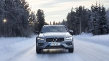 2020 Volvo V60 Cross Country First Drive | Crossing (and crashing) Arctic Sweden