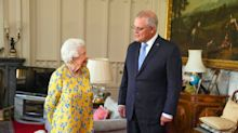 'Oh Lord': Queen brushes off compliment from PM Scott Morrison