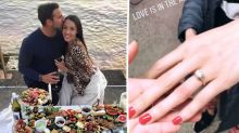 MAFS' Davina shocks fans with engagement ring photo