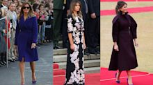 Melania Trump's most controversial outfits from her first year as FLOTUS