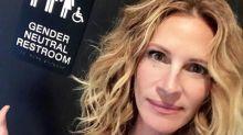 Julia Roberts pede banheiros públicos de 'gênero neutro'