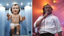 Take a look at me now: baby Jesus statue resembles Phil Collins