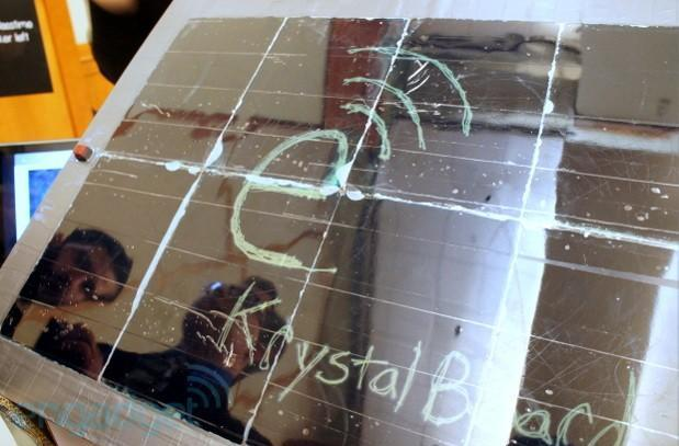 KrystalBoard wants to replace blackboards and whiteboards with liquid crystals