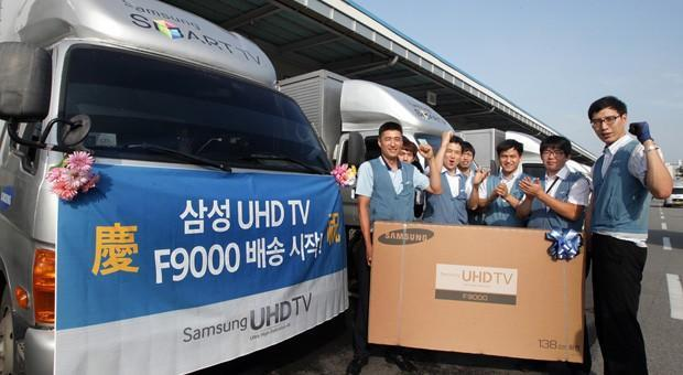 Samsung ships its 55- and 65-inch 4K TVs to Korea on July 6th