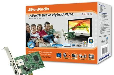 AVerMedia's AVerTV Bravo Hybrid PCIe tuner card gets reviewed