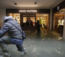 Time for hip waders: Venice sees record 3rd exceptional tide