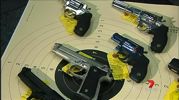Crackdown on illegal gun trade