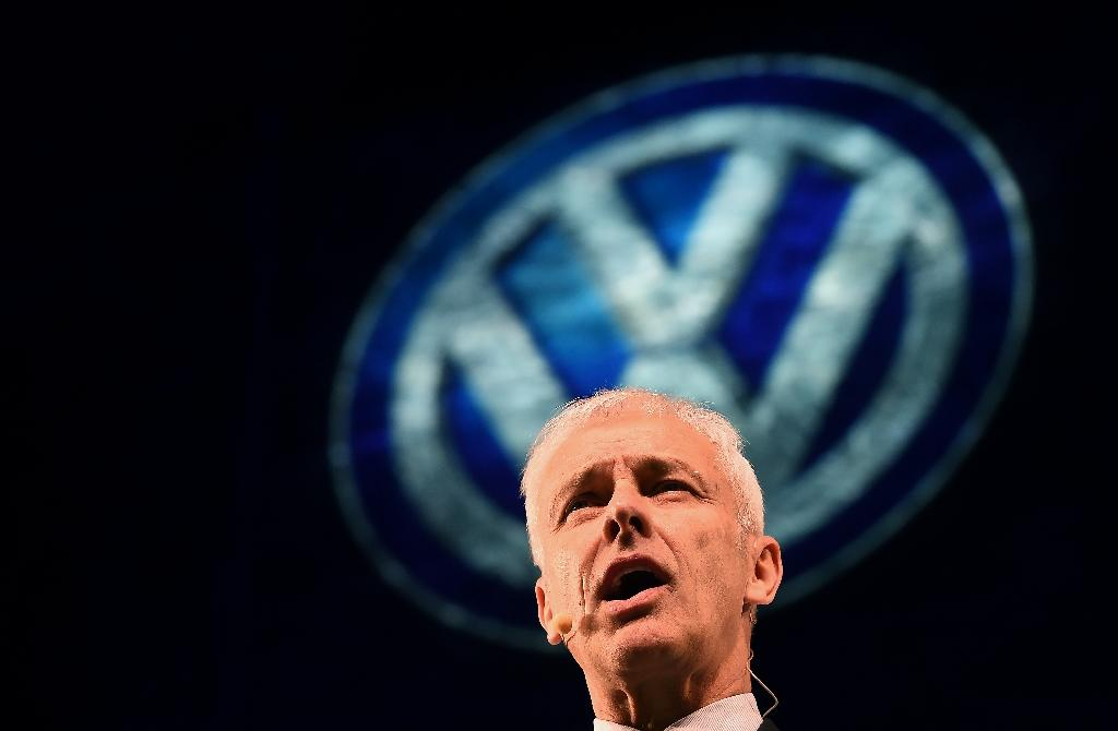 Volkswagen chief executive Matthias Mueller has said belts will have to be tightened at the car giant