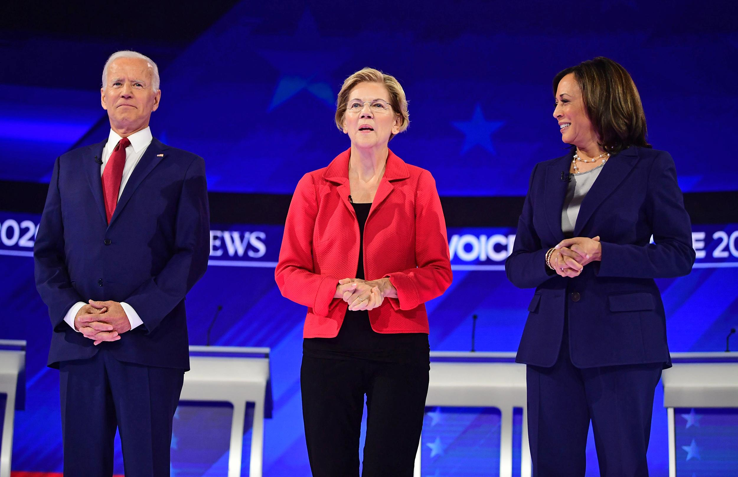 For Biden VP, Black Democrats are torn between Harris and Warren