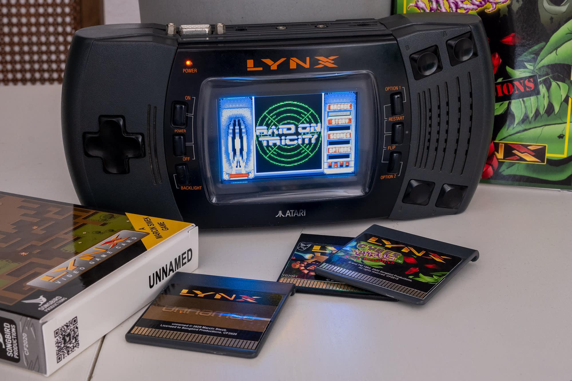 New Atari Lynx games