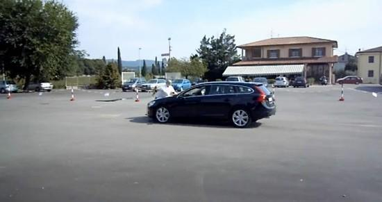Volvo pedestrian avoidance test goes horribly, comically wrong (video)