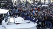 Marshawn Lynch thanks Seahawks fans in full-page Seattle Times ad