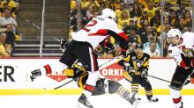 Dion Phaneuf levels Bryan Rust with huge hit (Video)