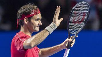 Federer inicia la conquista de su décimo título en Basilea