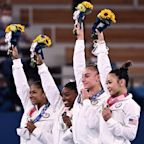 """No, Simone Biles and the US Gymnastics Team Didn't """"Settle"""" For Silver - They Won It"""