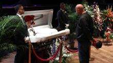 Chuck Berry Laid to Rest at All-Star St. Louis Memorial