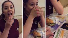 La declaración de amor en una hamburguesa que se hizo viral en México