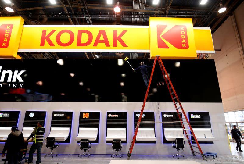 Federal agency puts a halt on Kodak loan while probe continues