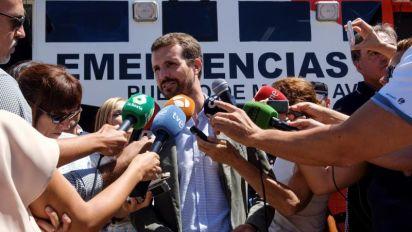 """Casado cree que los """"bandazos"""" del Gobierno llevan a más explotación de migrantes"""