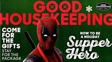 Deadpool does Thanksgiving as guest editor of Good Housekeeping