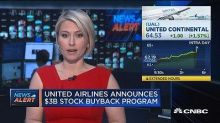 United Airlines announces $3B stock buyback program