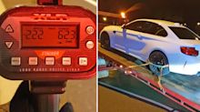 BMW driver 'caught 142km/h over speed limit'