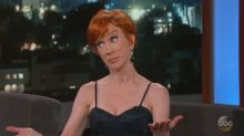 Kathy Griffin spoke with new pal Stormy Daniels shortly after Ohio arrest