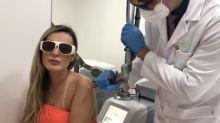 """Andressa Urach remove tatuagens: """"Me incomodam"""""""