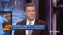 Uncertainty is good for business, says Wolters Kluwer CFO