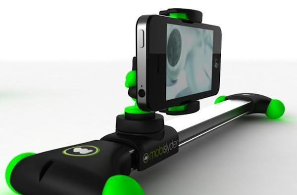 Mobislyder offers low-level roll track for filming, gleams the cube