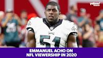 Emmanuel Acho on NFL ratings: 'I'm glad sports are down'