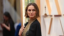 Natalie Portman wears names of snubbed female directors on custom cape at Oscars 2020