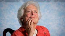La Casa Blanca quería rendir tributo a la ex primera dama Barbara Bush pero (también) cometió un error