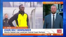 Usain Bolt could trial with Central Coast Mariners