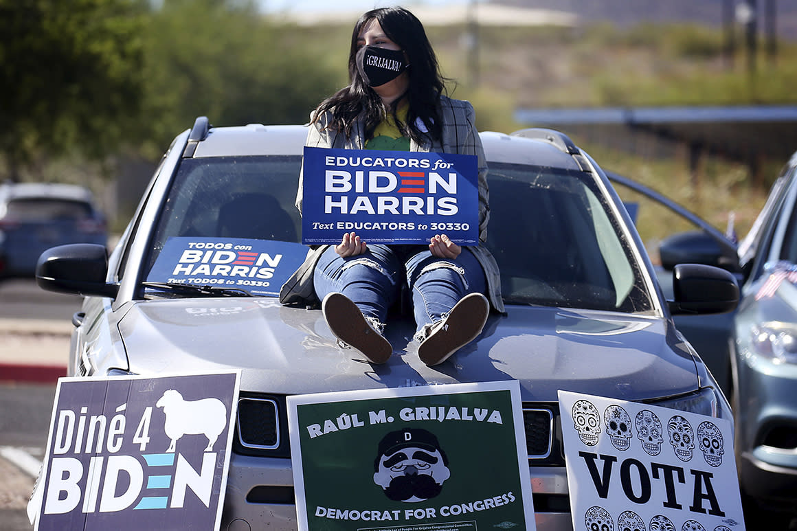 Inside the machine to turn out Arizona Latinos — and flip the state blue