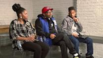 Spike Lee With Young Actors From 'Red Hook Summer'