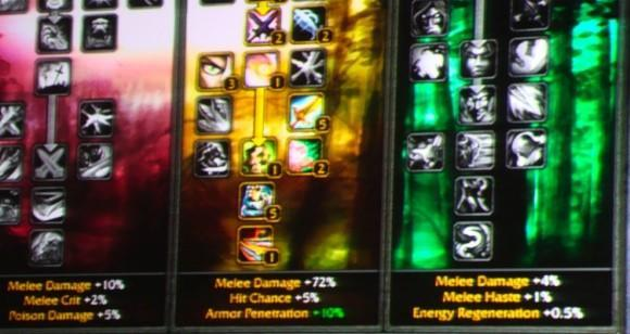 BlizzCon 2009: Mastery system and talent trees
