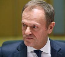 EU's Tusk sees short Brexit delay if UK backs divorce deal