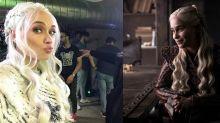 ¿Quién es quién? Patricia Conde sorprende con su transformación en Daenerys Targaryen