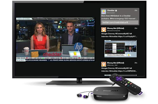 Roku's Twitter channel brings livestreams to your living room